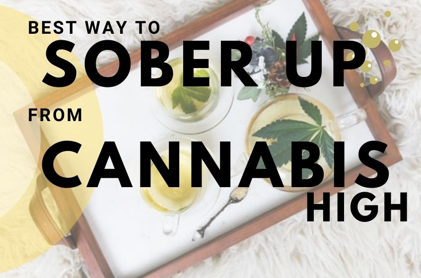Ways to Sober up From Being Too High